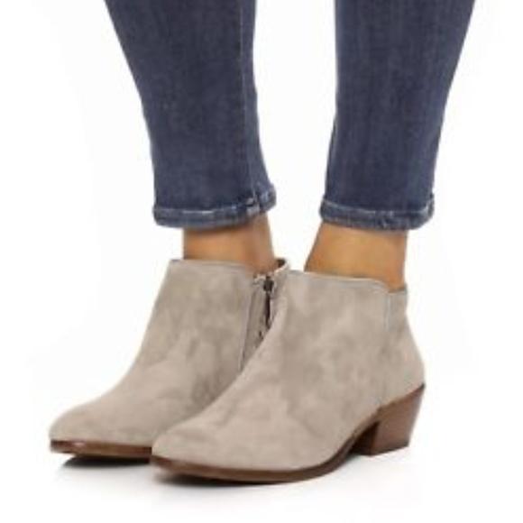6b38913f00db69 Sam Edelman 8.5 M Gray Suede Petty Ankle Boots. M 5c3d25863c9844dbc0ca5184